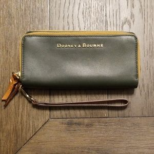 Dooney and Bourke City Double Zip Wallet
